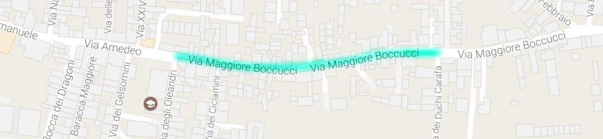 Richiesta di modifica della circolazione stradale in Via Magg. Boccucci