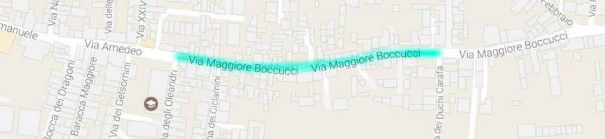 Via Maggior Boccucci a senso unico!